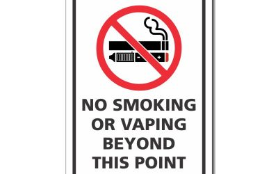 Updated No Smoking Sign