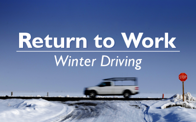 Return to Work – Winter Driving